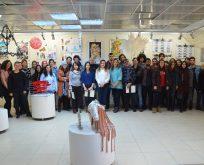 Güzel Sanatlar Fakültesi'nde Temel Sanat Eğitimi Güz Dönemi Sergisi Açıldı