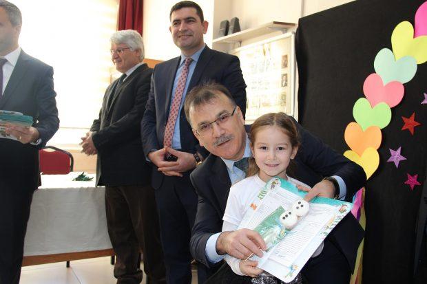 'Güzel Tören' Güzeltepe İlkokulu'nda Yapıldı