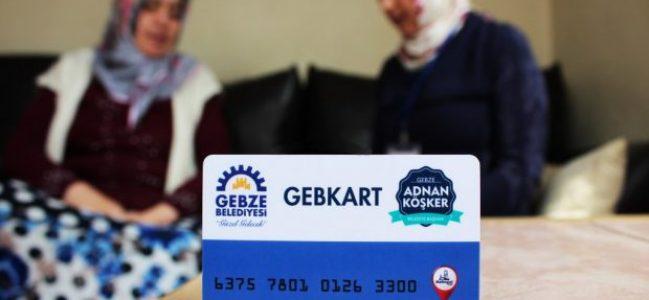 Gebze'de GebKart Uygulaması