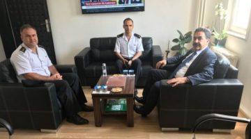 İlçe Jandarma Komutanlığına ziyaret