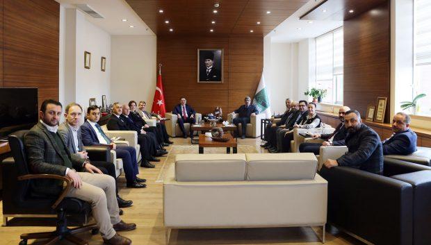 Başdenetçi Malkoç, KOTO'yu ziyaret etti