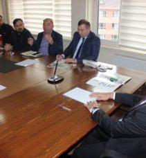 Gebze İlçe Spor Güvenlik Kurulu toplantısı yapıldı