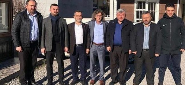 Yeniden Refah'tan Avcı'ya tebrik ziyareti
