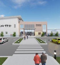 Gebze sporcu eğitim merkezinin inşası başladı.