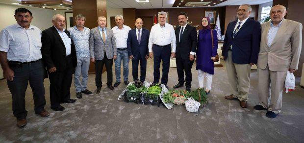 ''Tarım Desteklerimiz Türkiye'ye Örnektir''