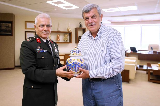 Tuğgeneral Dalkıran'dan Veda Ziyareti