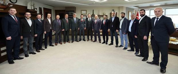 Karaosmanoğlu,Trabzon Dernek Başkanlarını ağırladı