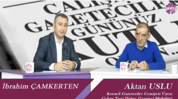 Çamkerten 'Çalışan Gazeteci' Uslu'yu Ağırladı