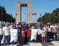 Çölyak hastaları Çanakkale Şehitliği'ni ziyaret etti
