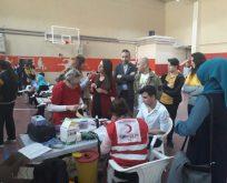 Gebze Cumhuriyet Anadolu Lisesinden Mehmetçik İçin Kan Bağışı