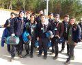 İLKÇEV İzcileri Mahalli Kış Kampında