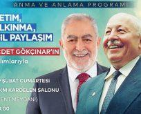"""""""Prof. Dr. Necmettin Erbakan'ın anma ve anlama """""""