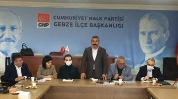 CHP İlçe Eğitim sekreterleri Gebze'de toplandı