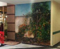 Güzel Sanatlar Fakültesi KOÜ Hastanesi'nin Duvarlarını Renklendiriyor