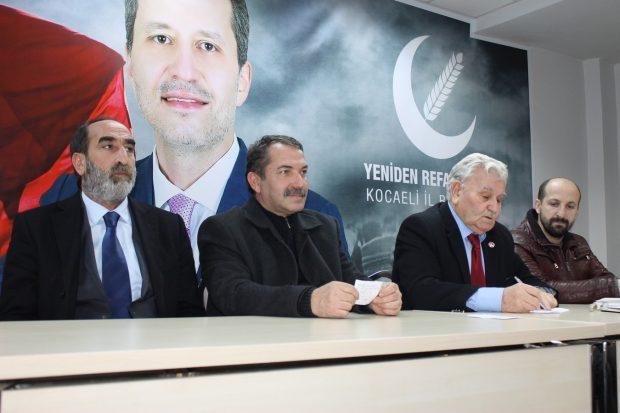 """""""Erbakan'ı anma etkinleri Kocaeli'de yapılacak"""""""
