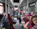 Önce okulda sonra otobüste eğitim