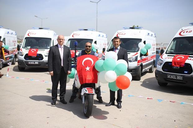 Motosiklet Ambulans Hizmete Giriyor