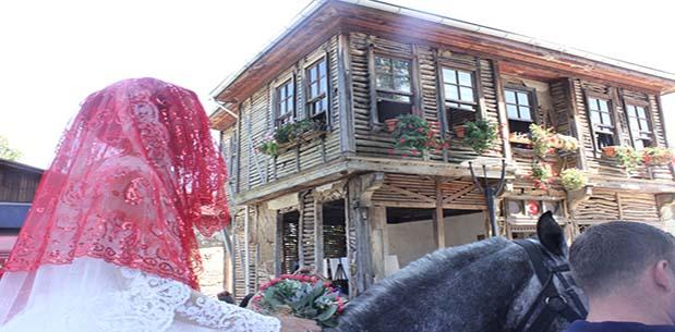 Saraylı Örcün Kültür Festivali Gelin Alayı ile Son Buldu