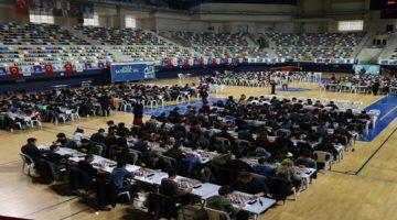 Satranç Ligi'nin üçüncü etabına 639 öğrenci katıldı