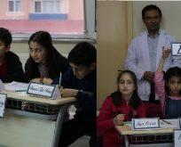 Bilgievleri bilgi yarışmasında yarı final heyecanı yaşandı.