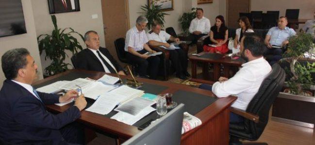 """""""15 Temmuz Demokrasi ve Milli Birlik Günü Etkinlikleri""""toplantısı yapıldı"""