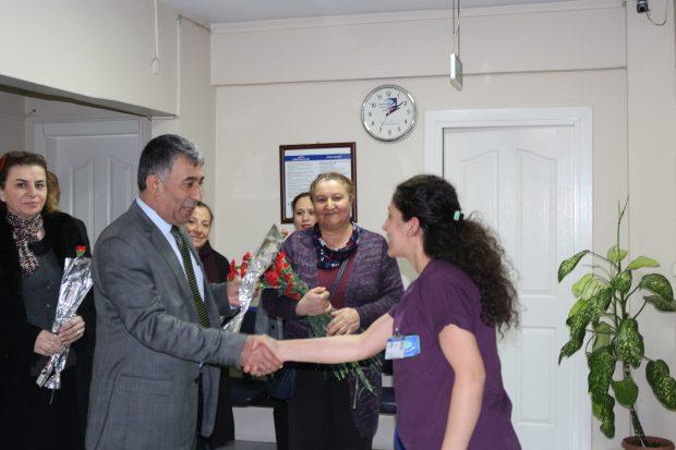 Kaya'dan 'Tıp Bayramı' Ziyaretleri
