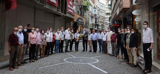 CHP Kandıra'dan Yıldızlı'ya Ziyaret