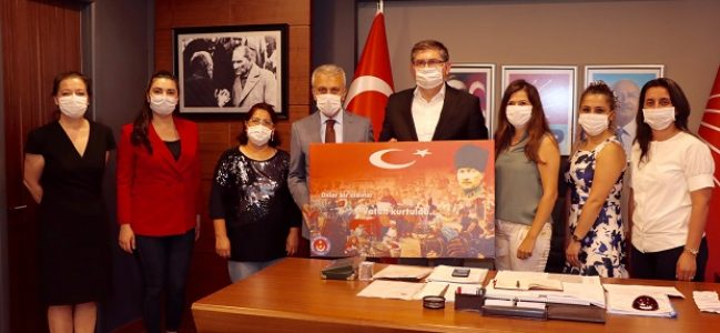 Türk Sağlık Sen'den Yıldızlı'ya Ziyaret