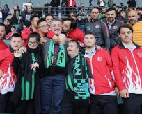 Kocaelispor'a çok özel sevgi