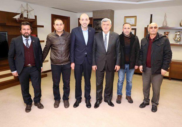 Karaosmanoğlu, BBP il yönetimini konuk etti