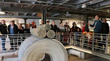 Kâğıt Müzesi ve Bilim Merkezine ziyaretler devam ediyor