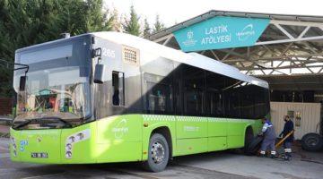 Otobüslerin Kışlık Bakımları da Yapıldı