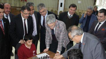 Okullararası Satranç turnuvası başladı.