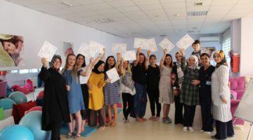14 anne adayı mezun oldu