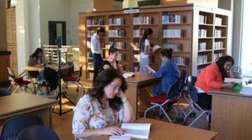 Halk Kütüphanesi öğrencilerin gözde mekanı