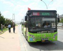 Kandıra sahillerine yeni otobüs hatları