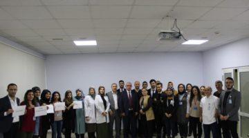 Farabi'de Tıbbi Sekreterler Günü Unutulmadı