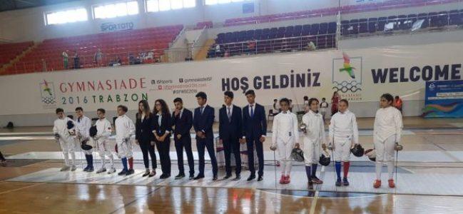 Karadavut, Eskrimde Türkiye 2.'si