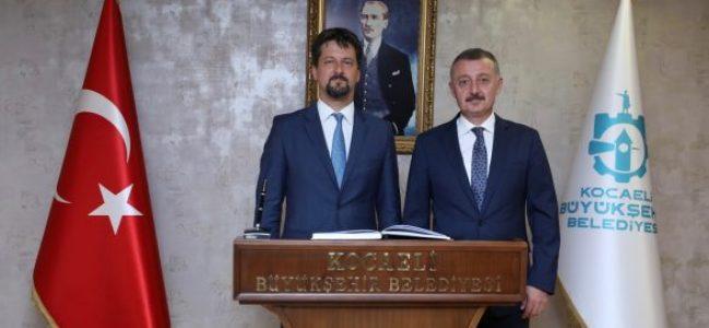 Macaristan Büyükelçisi Büyükakın'ı ziyaret etti