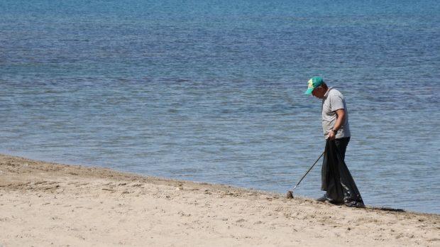 Plajlar bakımdan geçiyor