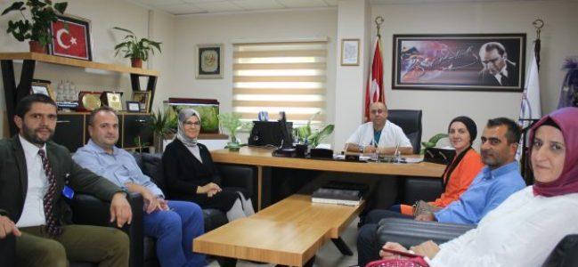 Katırcıoğlu Başhekim Şaşkın'ı ziyaret etti