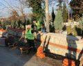 Mezarlıklarda onarım ve bakım çalışmaları devam ediyor.