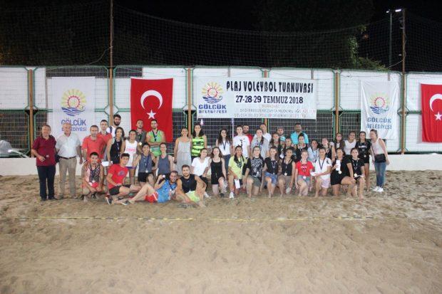 Plaj Voleybolunun Finalleri Nefes Kesti