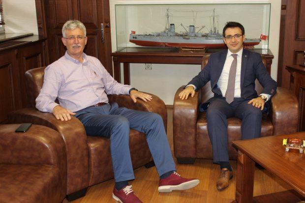 Başsavcı Durgut'dan,Ellibeş'e Veda Ziyareti