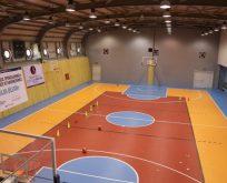 Başpehlivan Ahmet Taşçı Spor Salonu tanıtıldı.