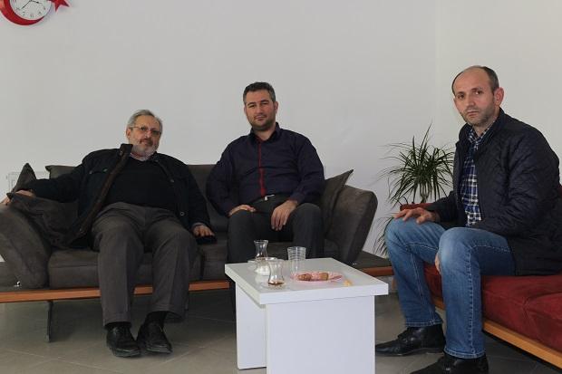 Sivaslılardan Gazetemize ziyaret