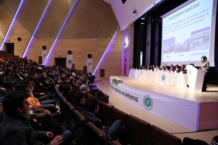 KOÜ'de Aday Öğrenci Tanıtım ve Bilgilendirme Toplantısı Yapıldı