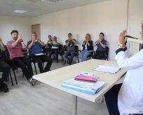 Polislere işaret dili eğitimi