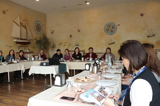 Büyükşehir'in kadın projesi Türk Dünyası'na açılıyor
