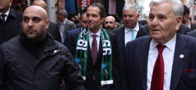 Yeniden Refah Partisi Genel Başkanı Dr. Fatih Erbakan Kocaeli' ye geldi.